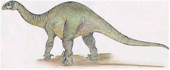 Vulcanodon dinosaur