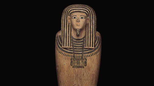 De sarcofaag van farao Ahmose I.  2008928189