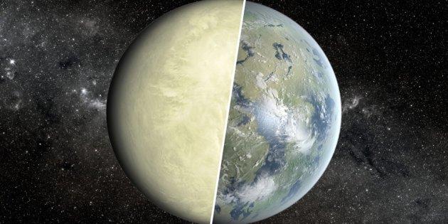 Goldilock  =venus versus aarde
