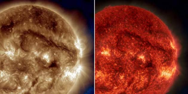 """NASA's SDO Watches Giant Filament on the Sun"" - NASA.gov"