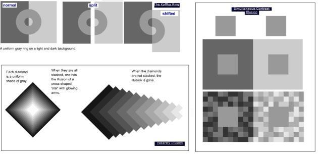 drie  optische illusies