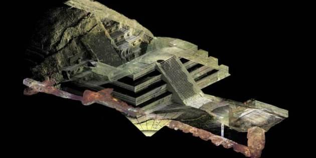 Tempel van Quatzalcoatl