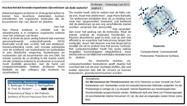 Prebiotische fotonenchemie
