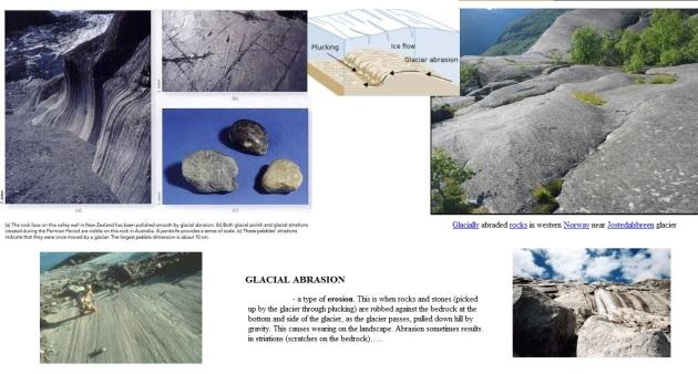 glacial abrasion