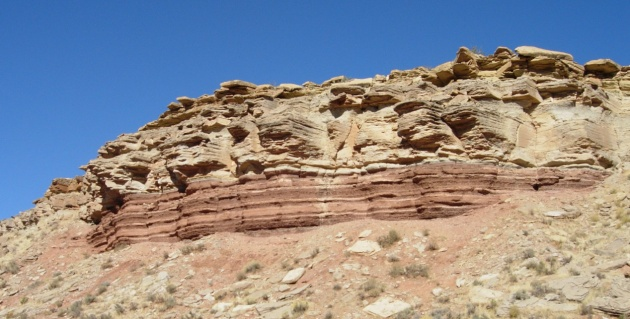 sedimentary   rock Triassic_Utah