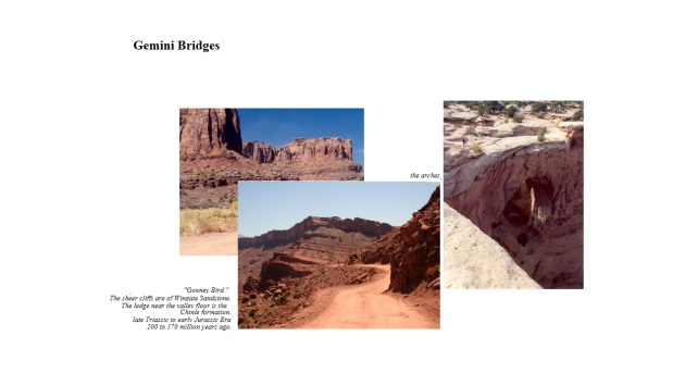 Moab  Gemini bridges