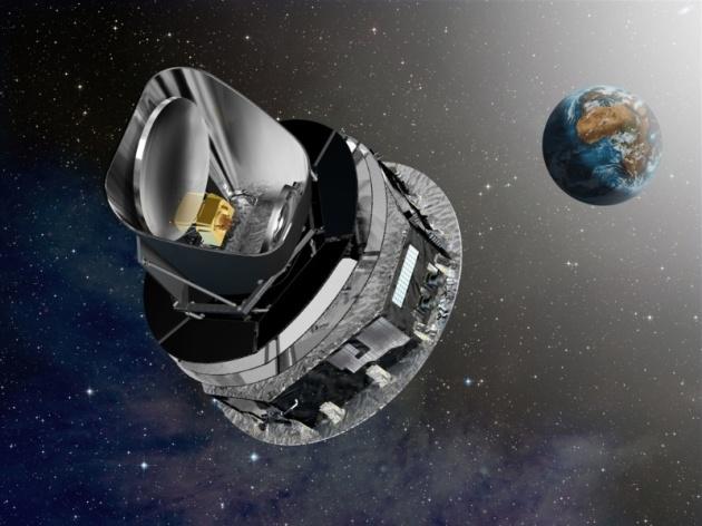 de Planck telescoop