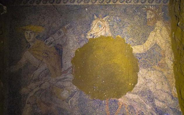 detail mozaik