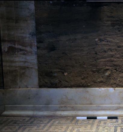 Detail vloer  tweede kamer
